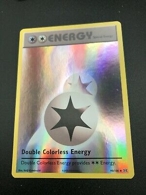 Double Colorless Energy REVERSE HOLO 90/108 Pokemon XY Evolutions Card NM 2016