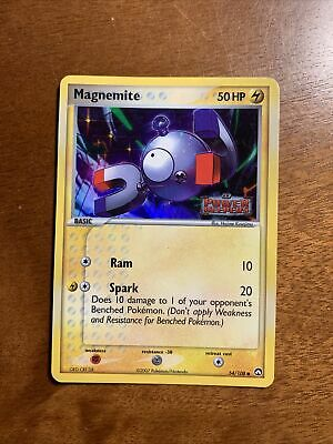 Pokemon TCG - Magnemite 54/108 EX Power Keepers Holo Stamped Card