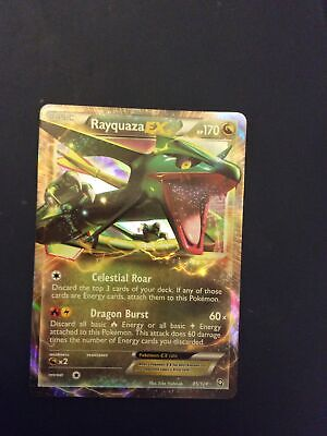 Rayquaza EX - 85/124 Ultra Rare Holo - BW: Dragons Exalted - Pokemon TCG
