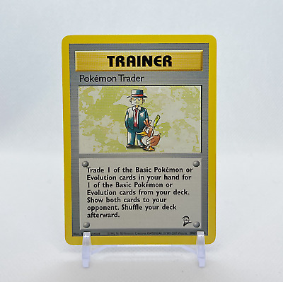 Pokémon Trader - 106/130 Base Set 2 - Rare Non Holo Pokemon Card - WotC - NM