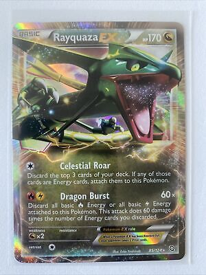 Rayquaza EX - 85/124 - Ultra Rare Pokemon Dragons Exalted NM