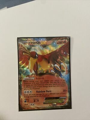 HO-OH EX Pokemon Card (2012) Dragons Exalted 22/124 - HOLO - Ultra Rare - NM
