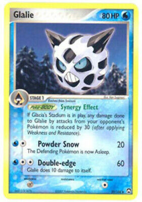 1x Glalie - 30/108 - Uncommon EX Power Keepers Pokemon Near Mint
