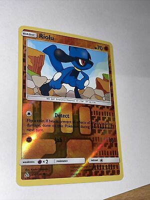 Riolu 66/156 Ultra Prism Pokemon (reverse Holo, Nm)