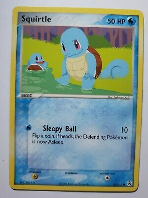 Squirtle 82/112 FireRed & LeafGreen Non holo Pokemon Card