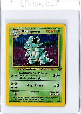 Nidoqueen Holo 1999 Pokemon Jungle 7/64