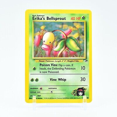 Erika's Bellsprout - 75/132 Gym Heroes Common Pokemon - NM