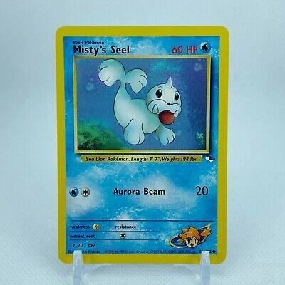 Misty's Seel - 88/132 Gym Heroes Common Pokemon - NM