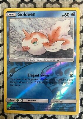Goldeen - Unbroken Bonds 48/214 - Reverse Holo Common Mint/NM - Pokemon