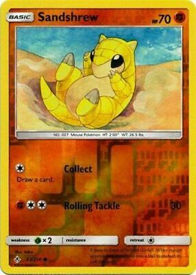 Sandshrew - 83/214 - Reverse Holo - Sun & Moon: Unbroken Bonds **NM** POKEMON