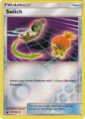 1x Switch - 147/168 - Uncommon - Reverse Holo Celestial Storm Pokemon Near Mint