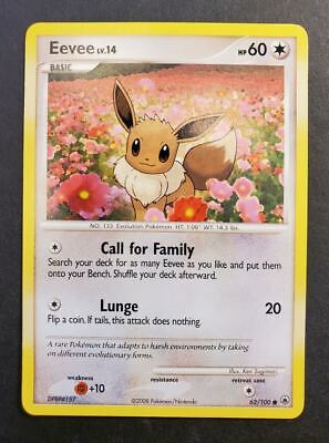 Pokemon Eevee 62/100 Majestic Dawn Common Mint/NM