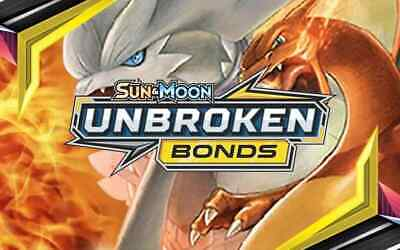 Pokemon UNBROKEN BONDS - Holo - Reverse Holo - Rare - GX Full Art PICK YOUR CARD