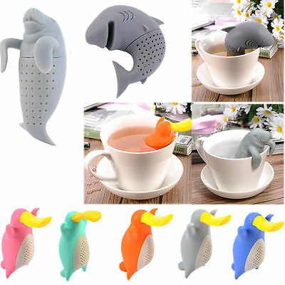 Чай Infusers Cute Silicone Animals Shaped