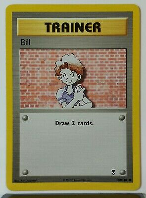 Bill 108/110 - NM - Legendary Collection Pokemon Card - $1 Combined Shipping