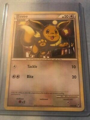 Eevee Pokemon Card: 56/95 Call Of Legends Common Near Mint Condition