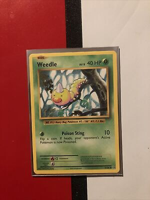 Pokemon WEEDLE XY Evolutions 5/108 NM/Mint Never Played Cards