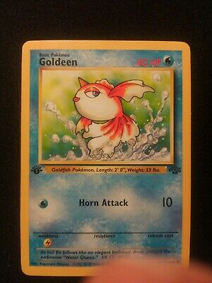 Pokemon 1st Edition Jungle Goldeen 53/64