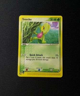 2003 Pokemon EX Dragon Treecko 80/97 LP/MP