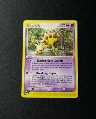 2003 Pokemon EX Dragon Girafarig 16/97 LP