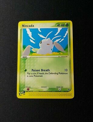 2003 Pokemon EX Dragon Nincada 66/97 NM/LP