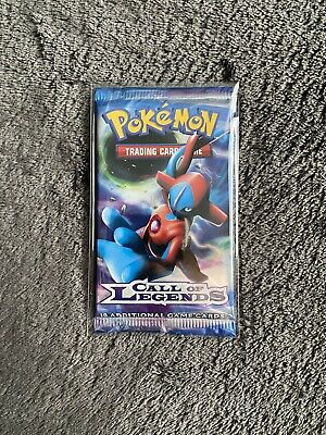 Pokemon Call of Legends Booster Pack Factory Sealed Deoxys Pack Art