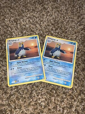 Prinplup 58/130 - Uncommon - Diamond And Pearl - Pokemon Card - Excellent NM x2
