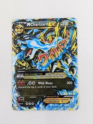 2014 Pokemon XY Flashfire Mega M Charizard EX 69/106 Holo Ultra Rare  NM