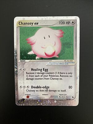 Pokemon Chansey ex Ruby and Sapphire  96/109 LP