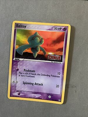 Pokemon Baltoy 44/108 Ex Power Keepers Stamped Reverse Holo NM Card