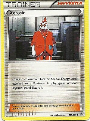 6x XEROSIC #110/119-XY Phantom Forces Pokemon Cards- Uncommon Trainer-MINT