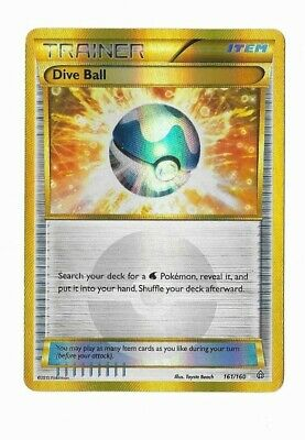 Pokemon Card Dive Ball Trainer Secert Ultra Rare Primal Clash 161/160