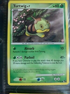 Turtwig Lv.7 17/17 Pop Series 9 Promo Common Pokemon Card - Near Mint