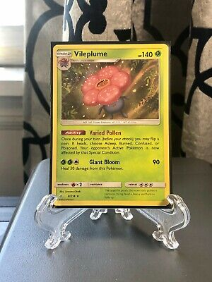 Pokemon Vileplume 8/214 Holo Rare Card - Unbroken Bonds - Mint Mint PSA READY!!