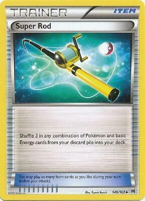 9x Super Rod - 149/164 - Uncommon NM Pokemon XY Breakthrough