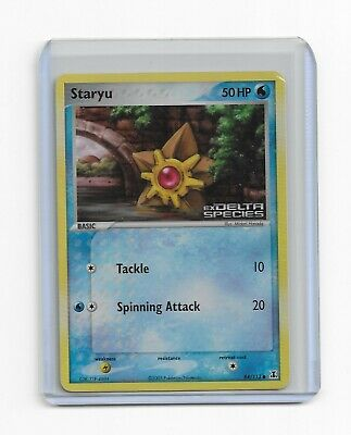 Staryu Pokemon TCG EX Delta Species Stamped Foil Common Card # 84/113 #84