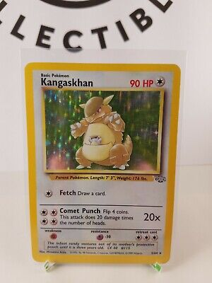 Kangaskhan Holo 56/104 Pokemon Jungle NM/LP