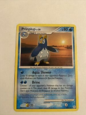 Prinplup 58/130 - Uncommon - Diamond And Pearl - Pokemon Card -