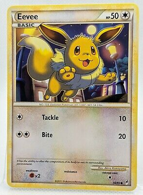 EEVEE  56/95 Call Of Legends Near Mint 2011  Pokemon Card