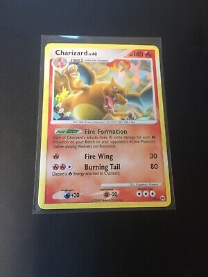 Charizard LV.60 1/99 Platinum Arceus Holo Rare 2009 Pokemon Card - NM