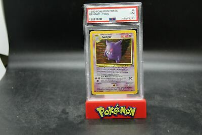 PSA 7 NM 1999 Pokemon Fossil Gengar - Holo #5