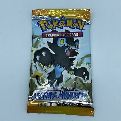 Pokemon Diamond & Pearl Legends Awakened Booster Pack Luxray Art - New & Sealed
