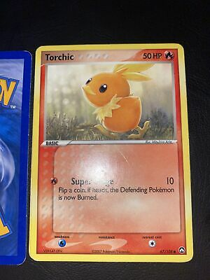 Pokemon Ex Power Keepers Torchic Common 67/108 NM