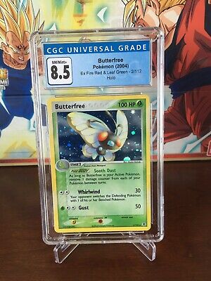 Butterfree 2/112 Holo Rare Pokemon 2004 EX FireRed & LeafGreen CGC 8.5