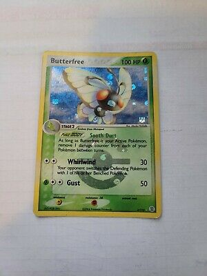 2004 Pokemon Ex FireRed LeafGreen Butterfree Reverse Holo 2/112