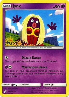 Jynx 68/181 - Uncommon Pokemon Card - Team Up Set (2019) - NM