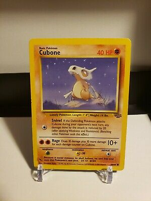 Pokemon Jungle Base Set - Cubone #50