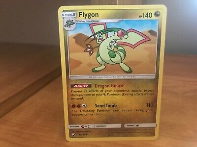 Pokemon Card Flygon 39/70 Dragon Majesty in Good Condition!