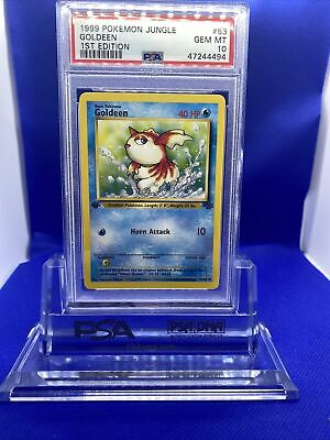1999 Pokemon Jungle 1st Edition Goldeen #53 PSA 10 GEM MINT