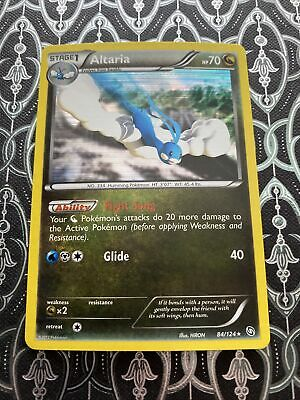 Altaria - 84/124 - Holo Rare - BW - Dragons Exalted - NM - Pokemon